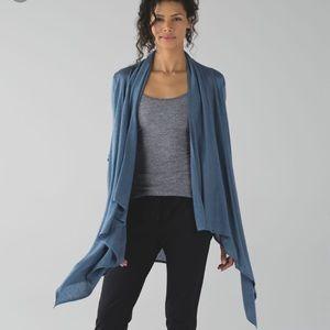 Lululemon Universal Wrap In Heathers Blue Denim